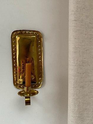 Brass 20th Century Sconce