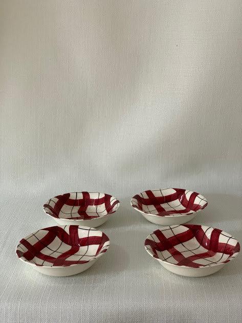 Set of Four Desert Bowls
