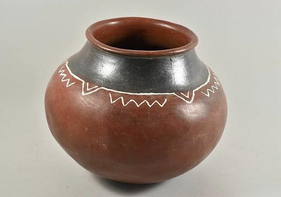 Ceramic African Storage Jar