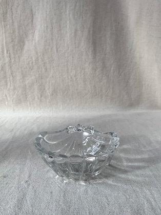 Glass Shell Trinket Bowl