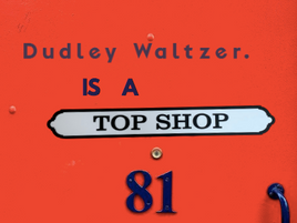 Dudley Waltzer Is A Top Shop