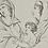 Thumbnail: Indian ink drawing , supplicating women of Darius, dated 1818