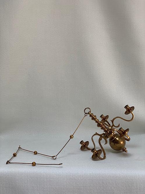 20th Century Brass Chandelier