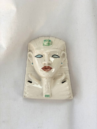 Rye Pottery Leo Bonassera Egyptian Mask Wall Plaque