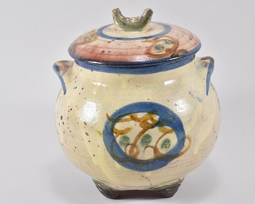 Ceramic Pot with Lid.