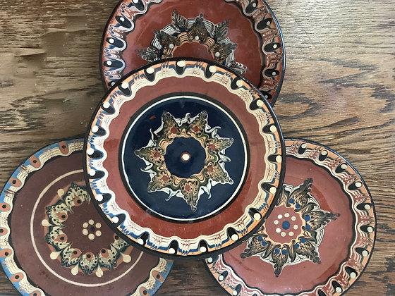 Four German Plates