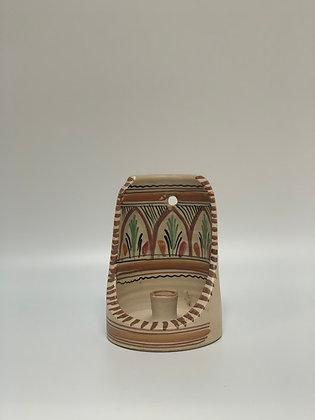 Vintage Ceramic Candlestick