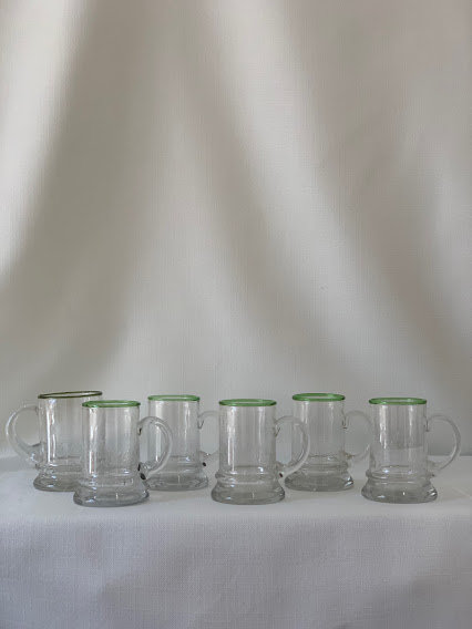 Set of Six Eisch Beer Glasses