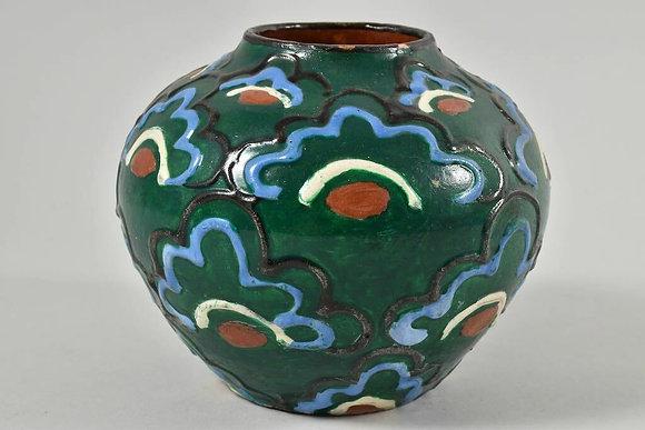 Hand Painted Vase, Ceramic