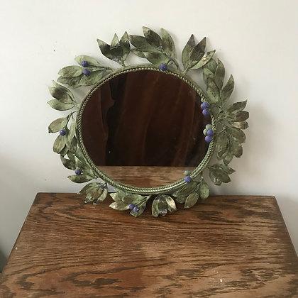 Vintage Tole Mirror