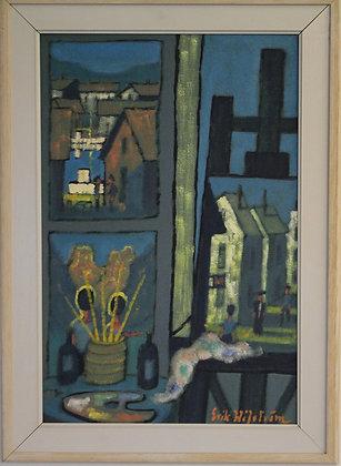 Oil on Boarder, Framed by Erik Håfström. 1908 - 1979