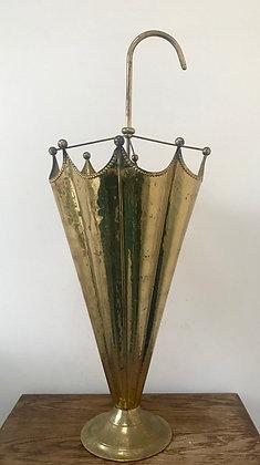 Old Brass Umbrella Stand