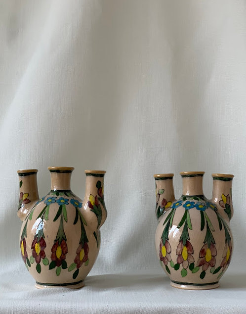 Pair of Isfahan Vases