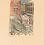 Thumbnail: Mid Century Framed Woodcut by Fritz Grahn