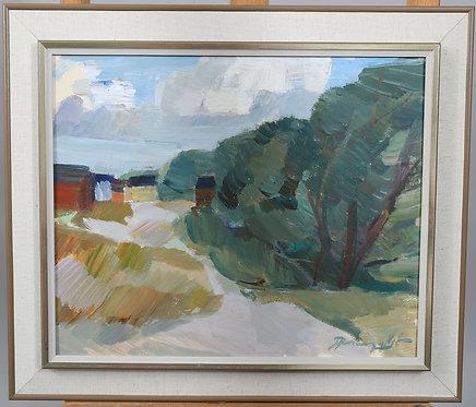 Landscape signed H Rosenquist.