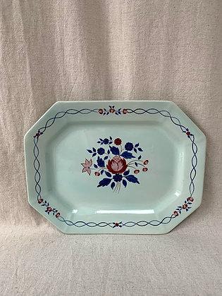 Adams Calyx Ware Floral Serving Platter