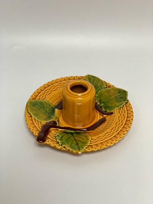 Vintage Ceramic Candle Holder