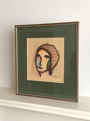 Framed Pastel by Ivan Jordell 1901-1965