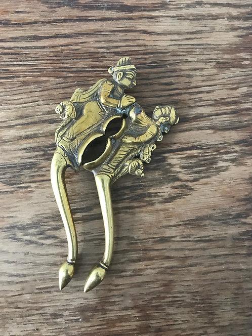 Ornate Brass Nutcracker