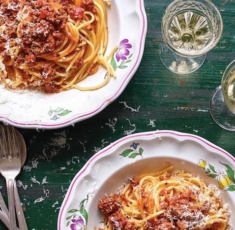 House & Garden Image, Recipe spaghetti bolognese