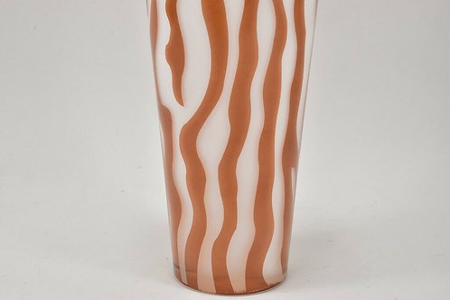 90s Glass Vase