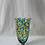 Thumbnail: Mid Century Celery Splatter Glass Vase