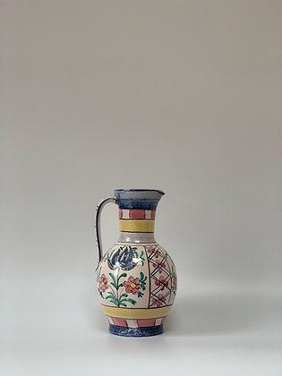 Painted Ceramic Jug