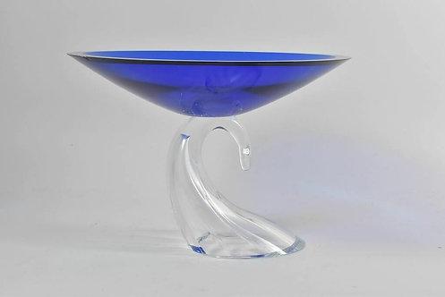 Design Glass Pedestal Bowl