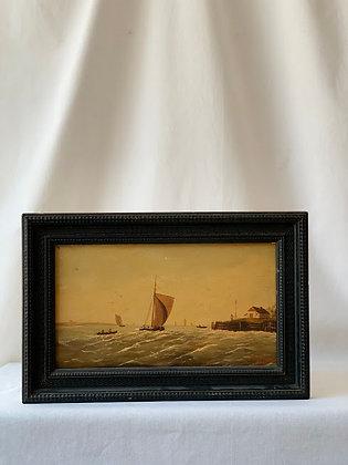 Framed Oil on Board