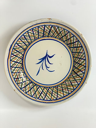 Spanish Faience Charger, 19th Century