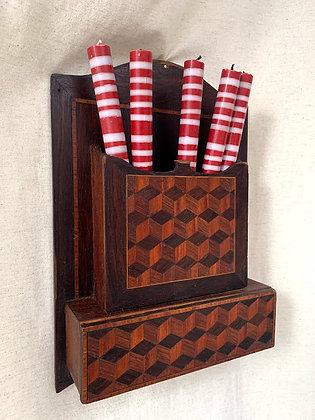 Mounted Church Candle Box