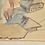 Thumbnail: Painting Watercolour/pencil, Alpine Landscape winter, DAT. '78