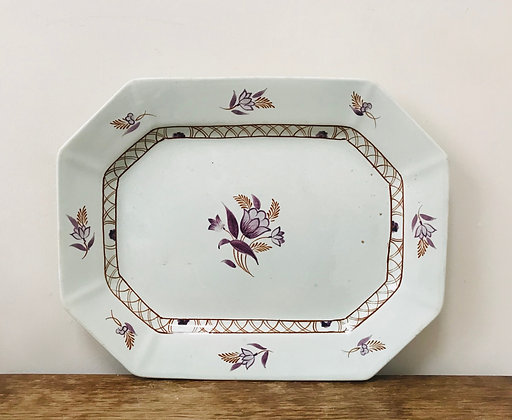 Hexagonal Vintage Platter