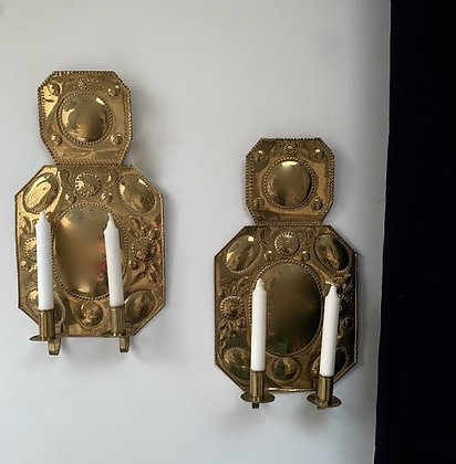 Pair of Baroque Style Swedish Sconces