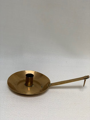 Antique Brass Chamberstick