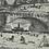 Thumbnail: Framed Etching, Dresden, Elbdeich