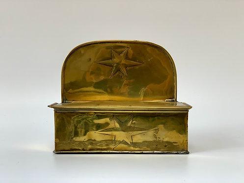 19th Century Brass Hanging Box