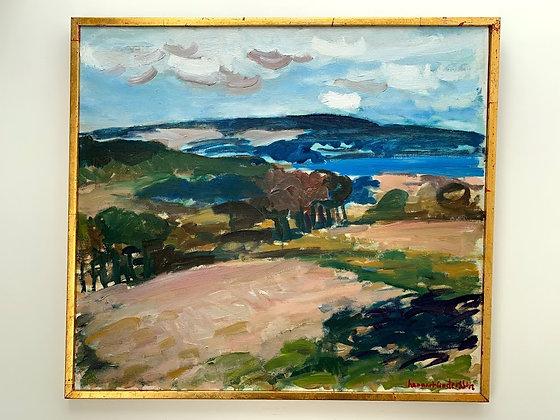 Lennart Andersson, Autumn Landscape, around 1960