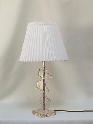 Mid Century Lucite Lamp