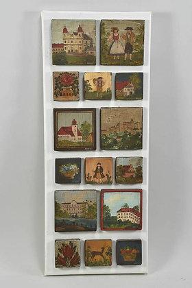 A Display Of German Folk Art, Signed Hanus