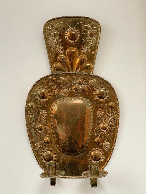 Baroque Style Sconce, 19th Century, Swedish