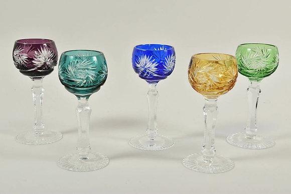 Cut Crystal Liquor Glasses