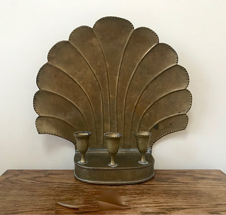 Large Shell Sconce