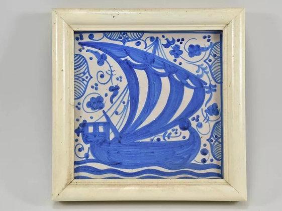 Framed Tile, 20th Century
