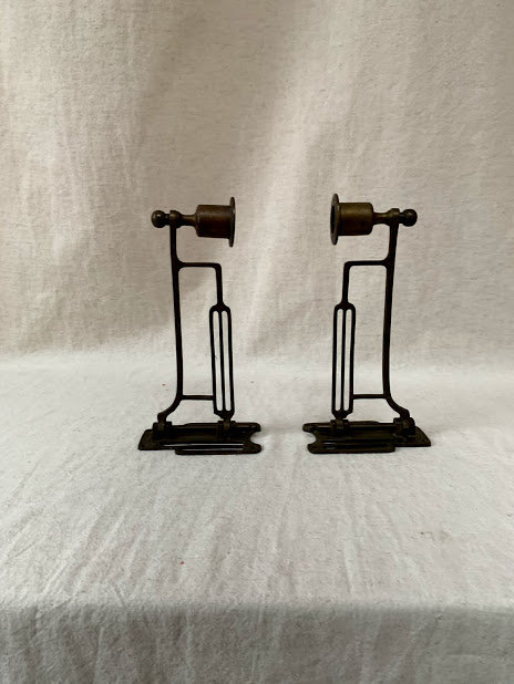 Pair of 20th Century Piano Sconces