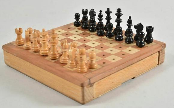 20th Century Travel Chess Set