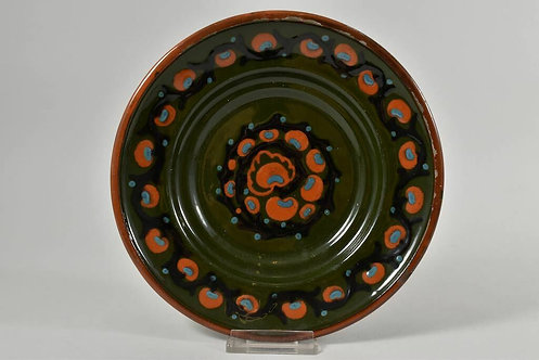 Plate by Karlsruher Majolika, Germany, 1950s