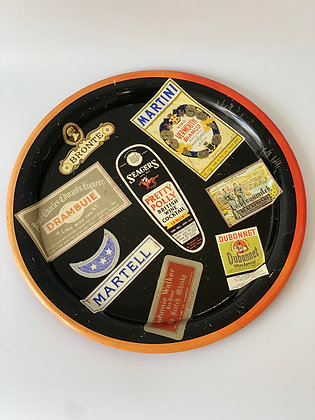 1960s Metal Tray