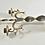Thumbnail: Vintage Wrought Iron Candlestick