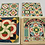"Thumbnail: ""Mosaic"" with original box and templates, around 1940"